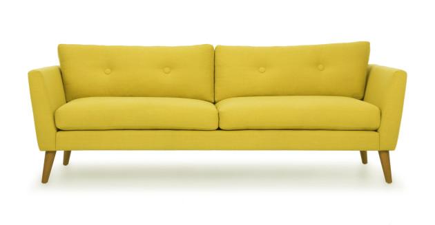 диван желтый назаказ